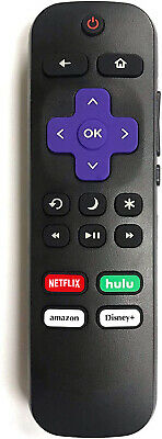 Original Hisense Roku TV Remote w/Volume Control & TV Power Button