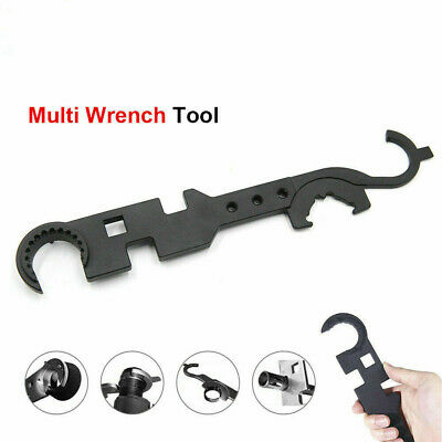 Multi-functional Wrench Enhanced Spanner Carbon Steel Tools Outdoor
