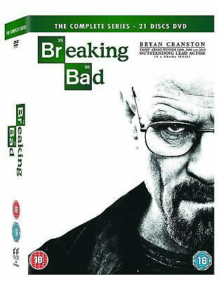 Breaking Bad The Complete Series 1-6 Dvd Box Set New Sealed - Read Description!!