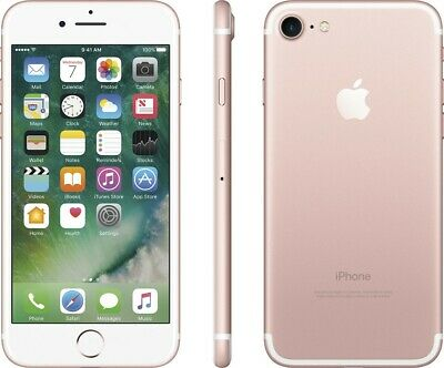 Apple iPhone 7 - 32GB - Rose Gold - Factory Unlocked Verizon / T-Mobile - A1660
