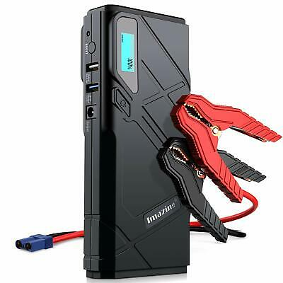 Imazing Portable Car Jump Starter 1500A Peak 12000mAH Up to 8L Gas 6L Diesel