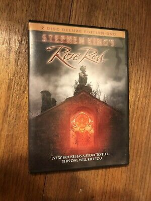 Stephen King's Rose Red 2 Disc Deluxe Edition Dvd $3.00 Shipping Via Media Mail.