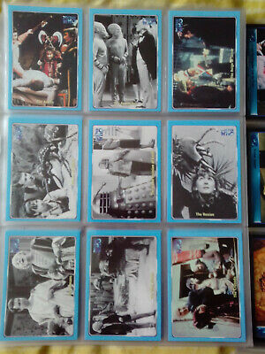 Doctor Who Series 1 Complete 120 Base & 17 Radio Time Set  Strictly Ink 2000