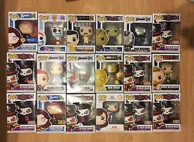 Funko Pop Lot Assortment Disney Marvel Chase Vaulted