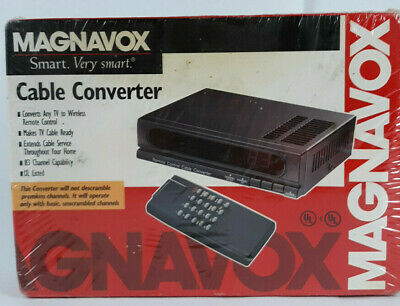 Magnavox Cable Converter - Extends Cable Service Throughout Your Home