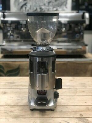 Mazzer Mini Manual Silver Espresso Coffee Grinder Commercial Home Office Cafe