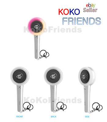 TWICE Official MINI Candy Bong Z Keyring Light Stick Chain Authentic KPOP Merch