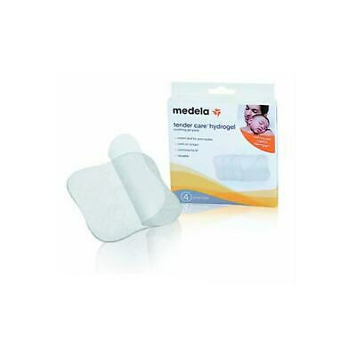 New 4pcs Medela Hydrogel Pads Nipple Relief Breastfeeding Soreness Soother