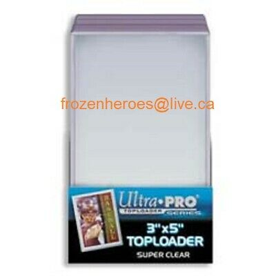 Ultra Pro Regular 3 x 5 Tall Boy Top Loaders**4 Packs of 25 = 100 T/L In Total**