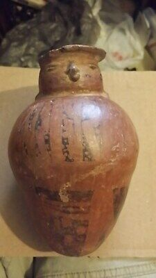 Pre Columbian Bird Effigy Vessel Pottery