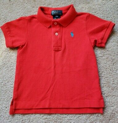 Infant/ Toddlers Red Ralph Lauren Polo Shirt Sz 18M ** Nice **