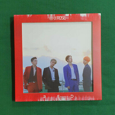 [Pre-Owned/ No Photocard] The Rose 3rd Single Album RED - CD/ Booklet