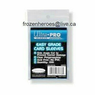 Ultra Pro Easy Grade Sleeves**100 Sleeves Per Package**Shipping Discounts**