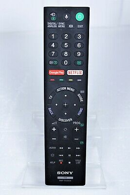 Genuine Sony Rmf-Tx200A Remote Control For Smart Tv 4K Kd-65X7500D Kd-75X8500D