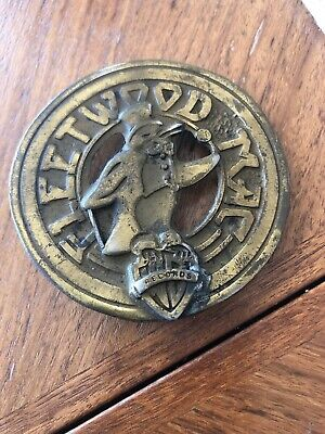 Fleetwood Mac 1st Edition (1977) Belt Buckle