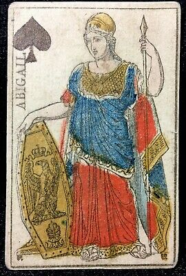 1811 Napoleons First Only Commissioned Historic Playing Cards Queen Court Single