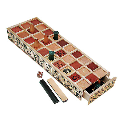 Wood Senet Game An Ancient Egyptian Board One Size FREE SHIPPING ONE COLOUR