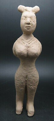 Rare Ancient Terracotta Indus Valley Pottery Fertility Idol Goddess