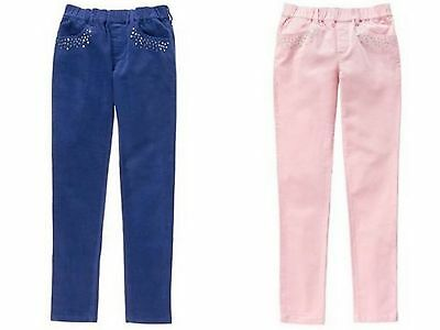 NWT Gymboree Pull-On Soft Stretch Sequin Cords Corduroy Pants Pant Girls 10 12