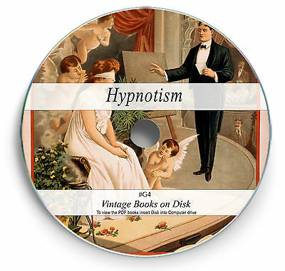 Hypnosis Hypnotize Hypnotherapy CD H58 Vintage Library of Hypnotism 60 Books