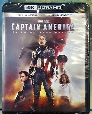 Captain America Il Primo Vendicatore (4K Ultra Hd + Blu-Ray) Marvel Ita Nuovo