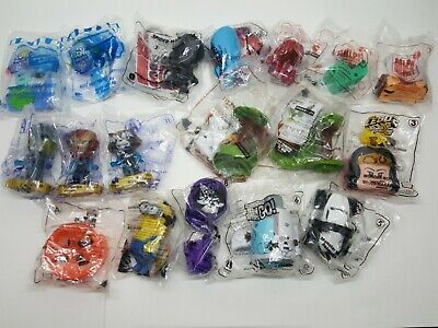Lot 18 McDonalds Toy Ralph Toy story Teen Titans Avengers 2018 2019 Mix Assorted