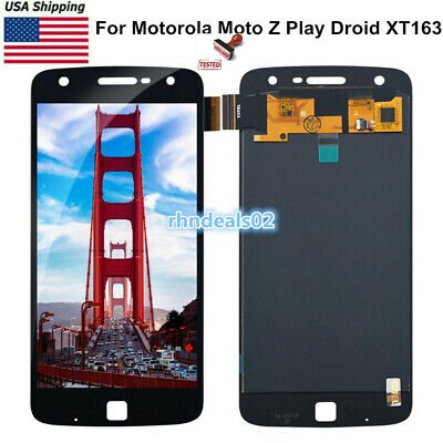 For Motorola Moto Z Play XT1635-02|Droid XT1635-01 LCD Touch Screen Digitizer US