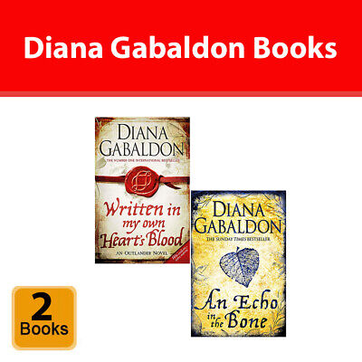 Outlander Series 2 Books Collection Set by Diana Gabaldon Fiction Paperback NEW
