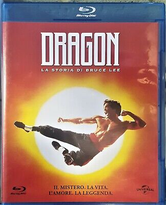 Dragon La Storia Di Bruce Lee Blu-Ray No Dvd Raro - Fuori Catalogo - Come Nuovo
