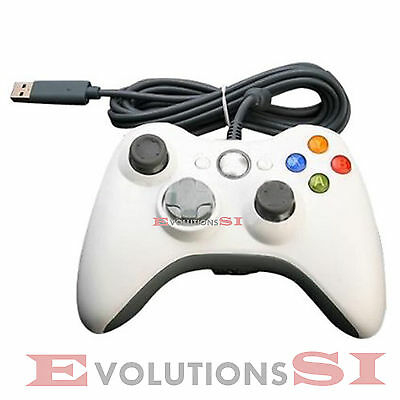 Mando Pad Gamepad Para Xbox 360 Y Pc Usb Vibracion Microsoft Wired Ordenador Pc