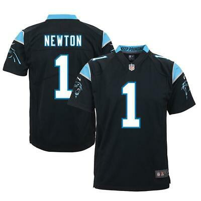 Youths Cam Newton Carolina Panthers Nike NFL Game Jersey - Black