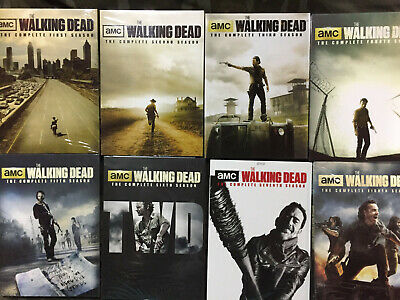 The Walking Dead: The Complete season 1-8 NEW DVD