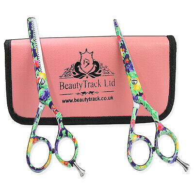 Professional Barber Scissors Set Salon Thinning Hair Cutting Hairdressing Shears