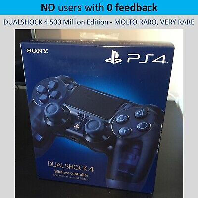 PlayStation 4 PS4 Controller Dualshock 4 500 Million Edition NEW - VERY RARE