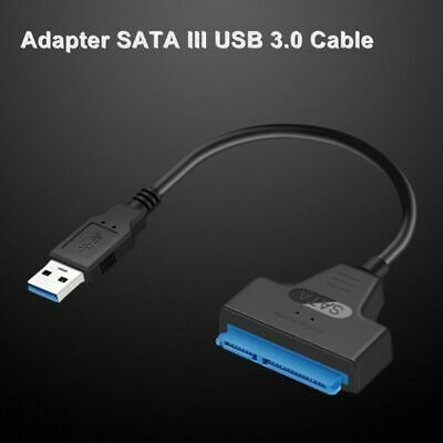 USB 3.0 2.0 Type C to 2.5 Inch SATA Hard Drive Adapter Converter Cable for SSD