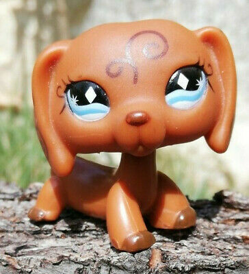 Littlest Pet Shop LPS chien Teckel #640