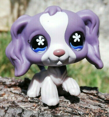 Littlest Pet Shop LPS chien Epagneul #672