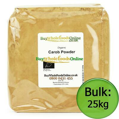 Organic Carob Powder 25kg Bulk | Chocolate | Buy Whole Foods Online |Free UK P&P