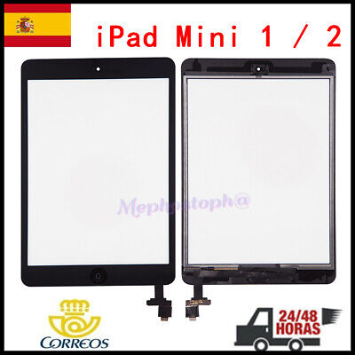 Pantalla Tactil Para iPad Mini 1 A1432 A1454 Digitalizador Screen+Chip IC Negro
