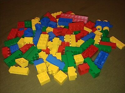 Mixed Blocks!  FREE SHIPPING!  1LB  LOT Miscellaneous Mega Blocks Tyco