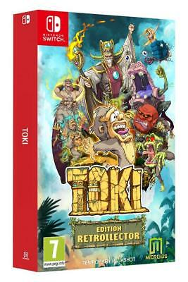 Toki Edition Retrollector Switch Neuf sous blister