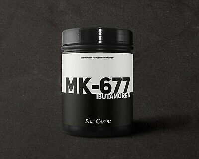 MK677 (Ibutamoren) - 25mg x 30 capsules (99% purity)