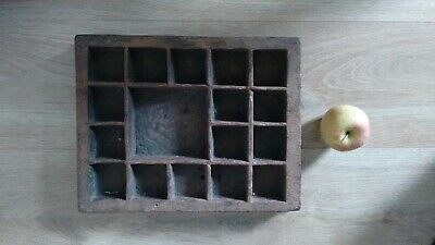 Antique Spice Tray from the Indonesian Spice Islands.