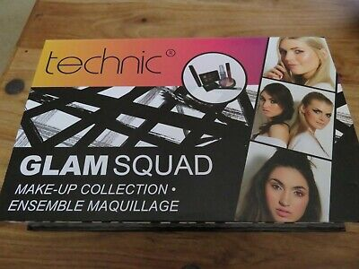Technic Beauty Glam Squad Make-Up Collection Gift Set NEW