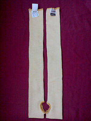 Pair made with  Kevlar Cut Resistant Sleeve 22'' ,Resistant Protective ,Superior