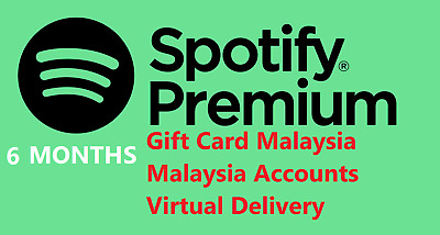 Spotify Malaysia NEW / UPGRADABLE accounts - 6 months - Cheap accounts / codes