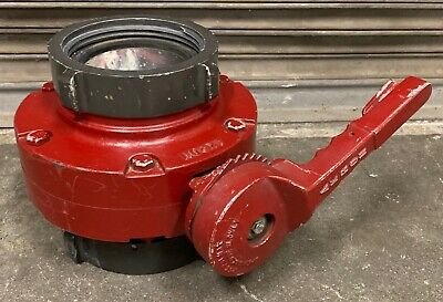 "AKRON 4.5"" / 6"" Fire Hose Manual BUTTERFLY Valve 4.50 NH 6.00 NH *"