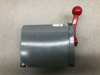 Used Dayton 2 Hp Reversable Manual Drum Switch 2X442A