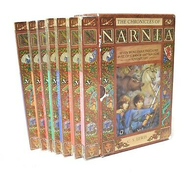 THE CHRONICLES OF NARNIA by C.S. Lewis - Set of 7 Books