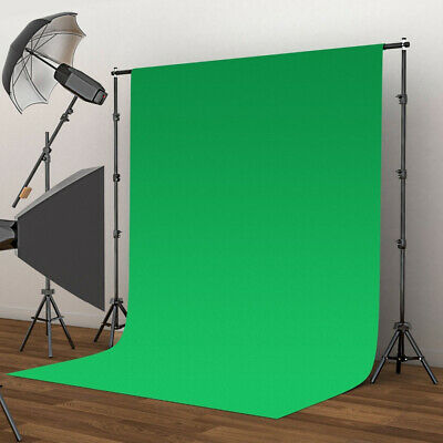 2x3m Photo Background Photography Studio Solid Green Screen Prop Backdrop 2019